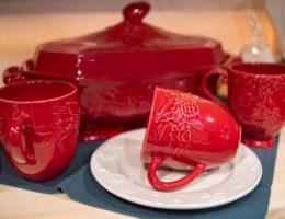 новогодняя посуда Bordallo
