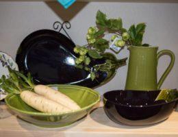посуда Яркое лето и блюда-баклажаны от Bordallo