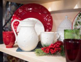 новогодняя посуда от Bordallo