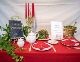 «Вернисаж праздничных сервировок» —конкурсная работа «Чаепитие с Волшебницей»