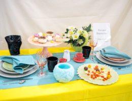 «Вернисаж праздничных сервировок» — конкурсная работа «Чайная встреча подруг»