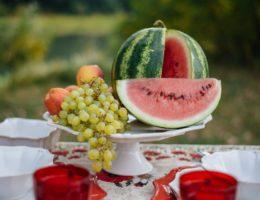 фруктовница на ножке
