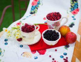 пример подачи лесных ягод