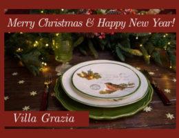 Праздничное настроение в Villa Grazia — поздравляем с Рождеством!