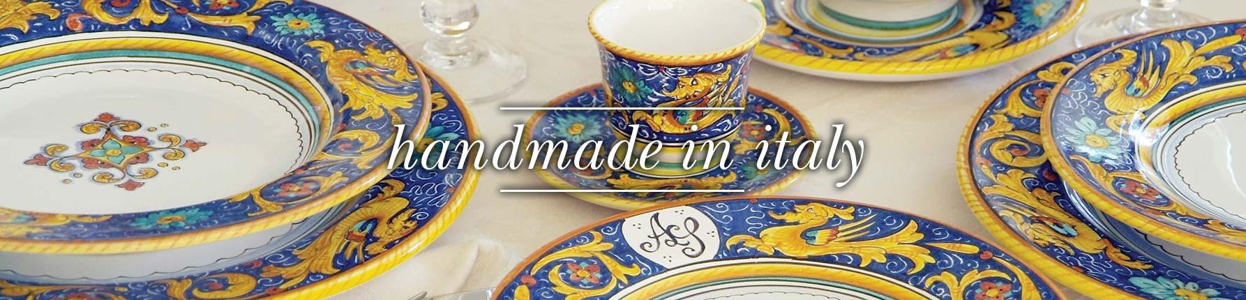 L´Antica Deruta изготовлено руками итальянских мастеров