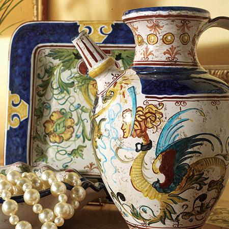 Глазурованная декоративная керамика