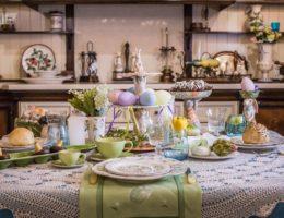 Пасхальная сервировка «Краски весны» — праздничное предложение от декораторов Villa Grazia