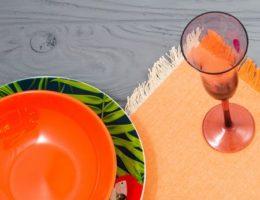 Экзотика в деталях посуды Villa D'este — 2 коллекции ярких новинок посуды