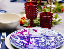 Акция «Лучшие сервировки лета» – скидки 50% на летние коллекции текстиля и посуды
