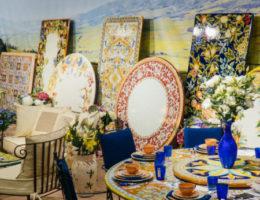 Яркие краски Италии в зимнем Киеве – экспозиция Villa Grazia на выставке INTERIOR MEBEL 2020
