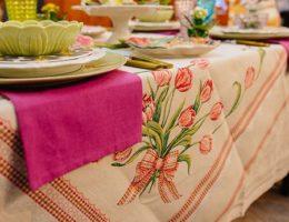 Пасхальный текстиль – 3 главных символа в декоре праздничного стола