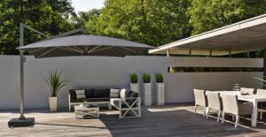 Садовый зонт Icon Platinum