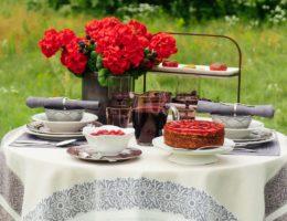 Шоколадно-ягодный соблазн – сервировка с керамикой Meridian
