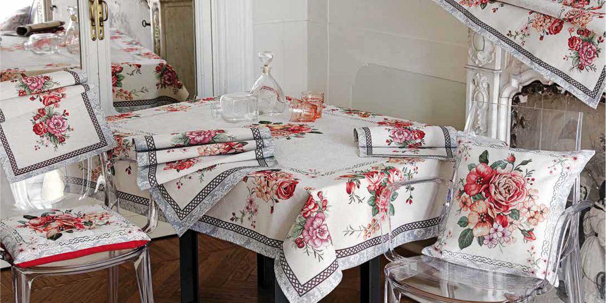 Коллекция гобеленового текстиля «Летний букет»
