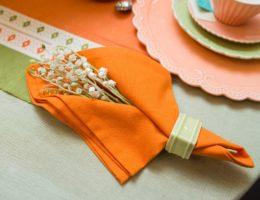 Столовая салфетка – незаменимый атрибут застолья.