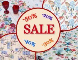 Акция «Лето продолжается!» – скидки до 50% на летние коллекции текстиля
