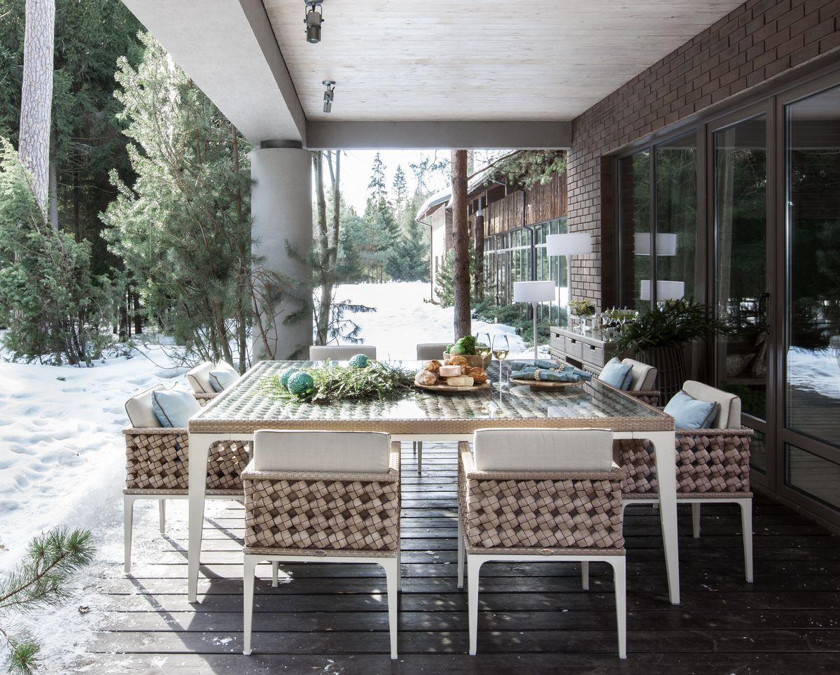 Скидка 30% на садовую мебель Skyline Design