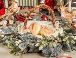 Керамические посуда и статуэтки «Лесной мороз» Fitz and Floyd