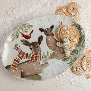Атмосферная коллекция огнеупорной керамики и тонкого стекла Deer Friends от португальского бренда Casafina