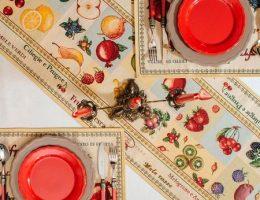 Нестандартные способы размещения скатертей и раннеров на столе