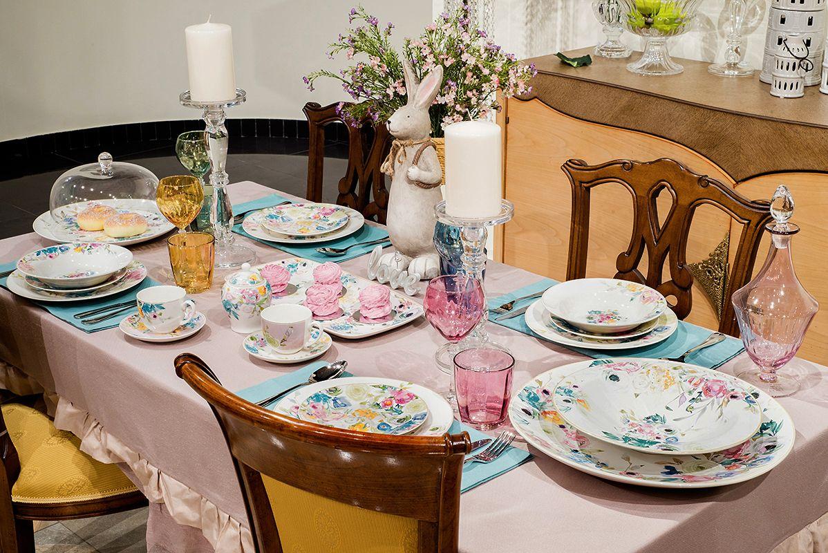 Аристократизм и элегантность делают сервировку уместной и для семейного обеда, и для романтического ужина