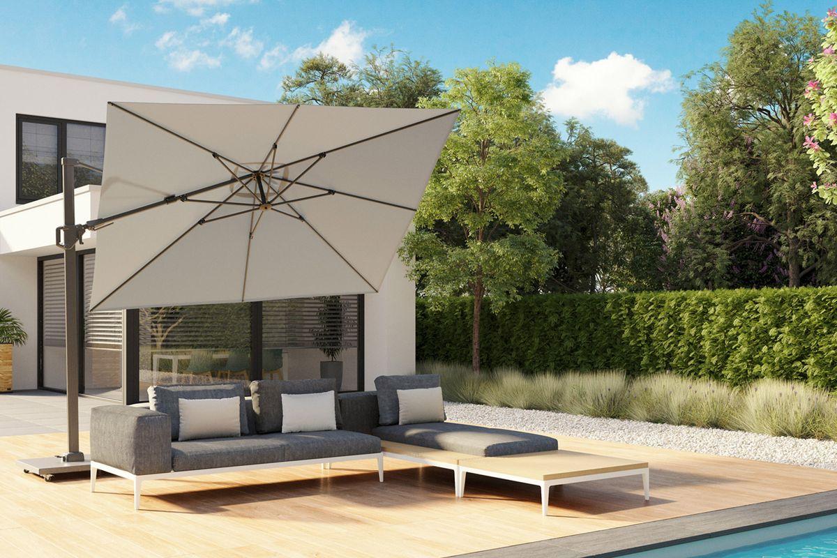 Акция: 10% скидки и фирменный чехол в подарок на садовые зонты Platinum премиум-класса